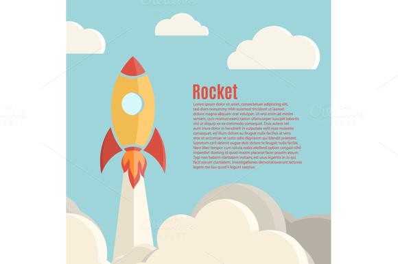 Rocket Launch Background