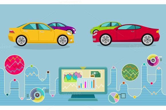 Auto Diagnostics Monitor Flat