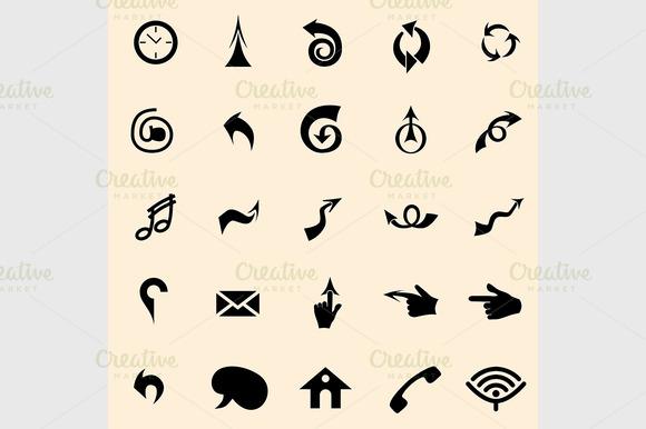 Vector Arrows Signs