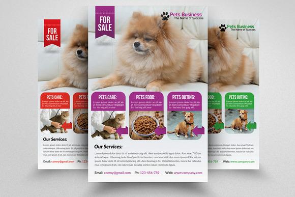 Pet Shop Business Flyer Template – CM 553964 - Heroturko Download