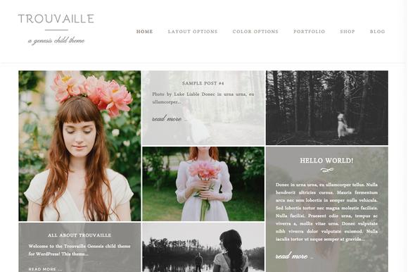 Trouvaille WordPress Theme - Blog