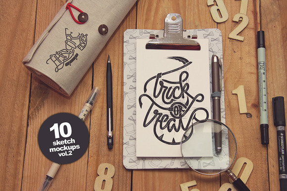 10 Sketch Mockups vol.2 - Product Mockups