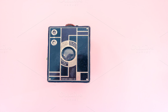 Hero Image Vintage Old Camera Kodak