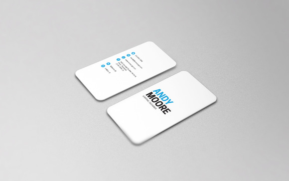 CreativeMarket Freelancer Business Card IV 558869
