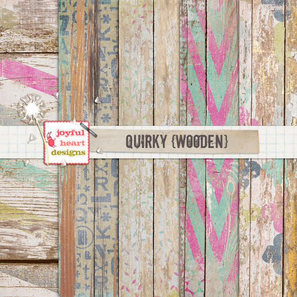 Quirky {wooden}
