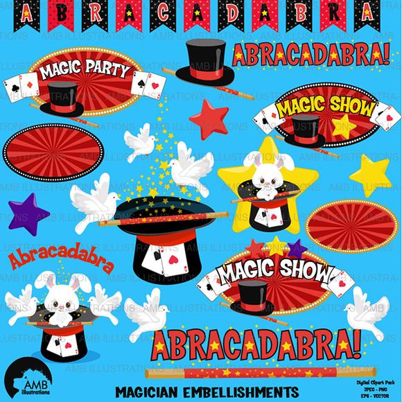 Magic Show Clipart AMB-1193