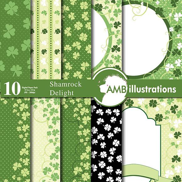 Shamrock Digital Papers AMB-442