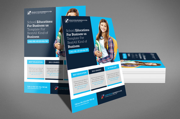 free educational flyer templates