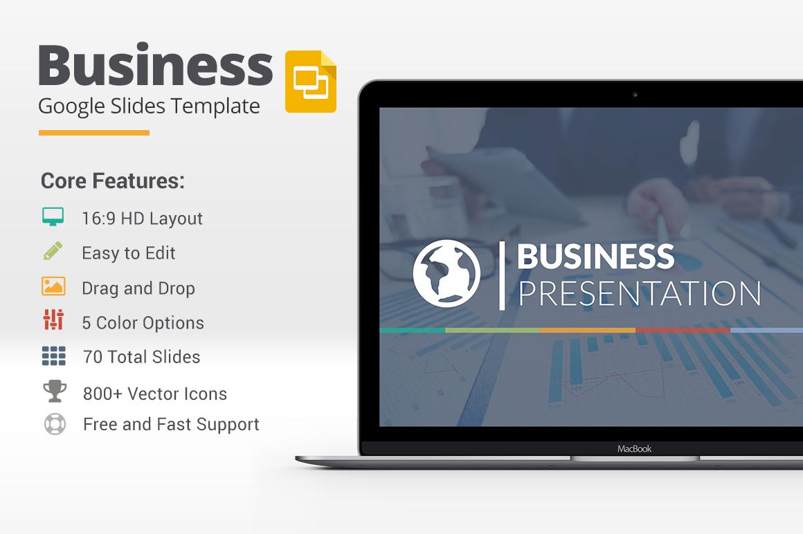 business google slides template presentation templates. Black Bedroom Furniture Sets. Home Design Ideas