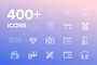 400+ Vector Icons pack, UI,-Graphicriver中文最全的素材分享平台