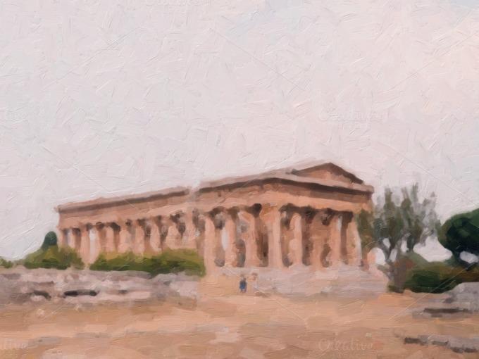 Basilica Oil Paint