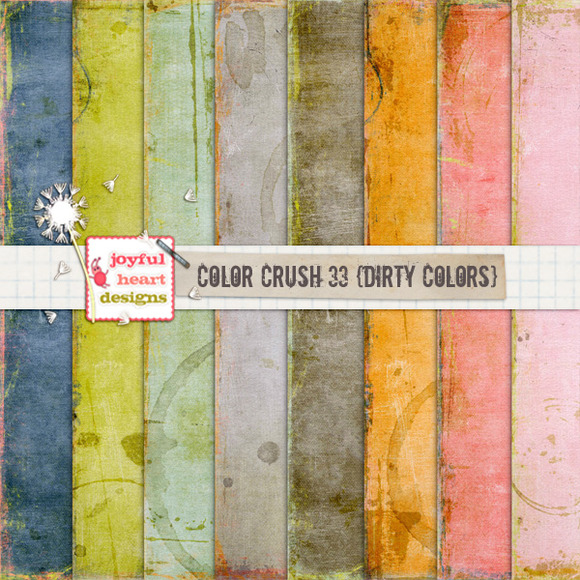 Color Crush 33 {dirty Colors}