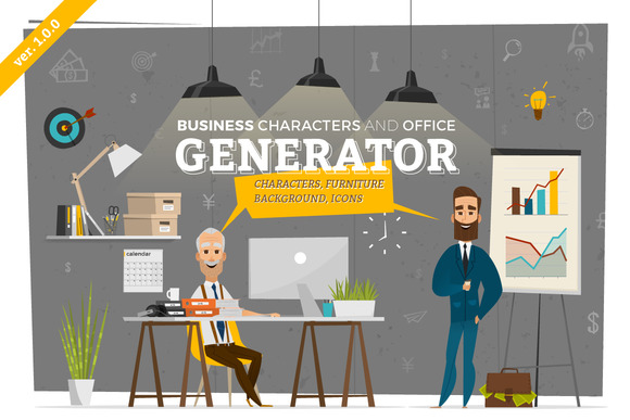 CM - Business Scenes Generator 562453