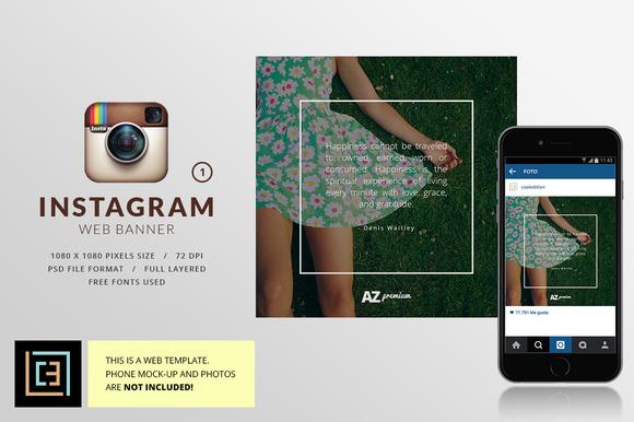 Instagram Web Banner 1