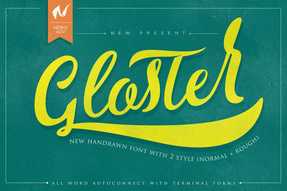 Gloster Typeface - Script - 1