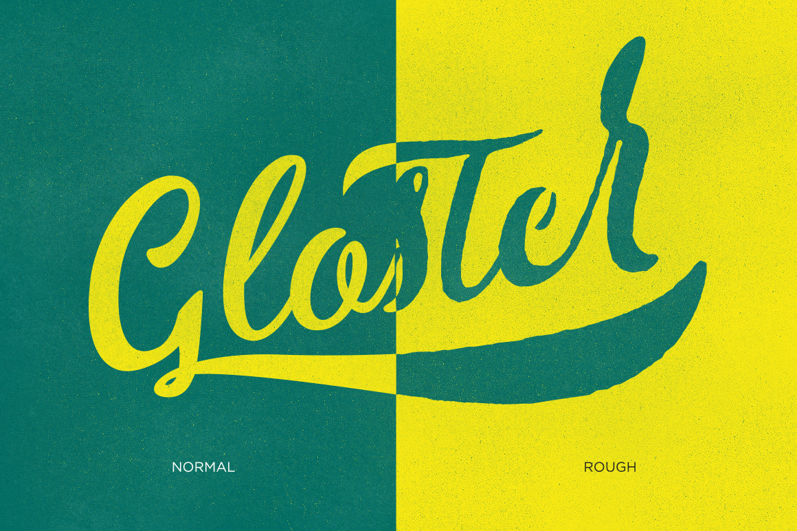 Gloster Typeface - Script - 5