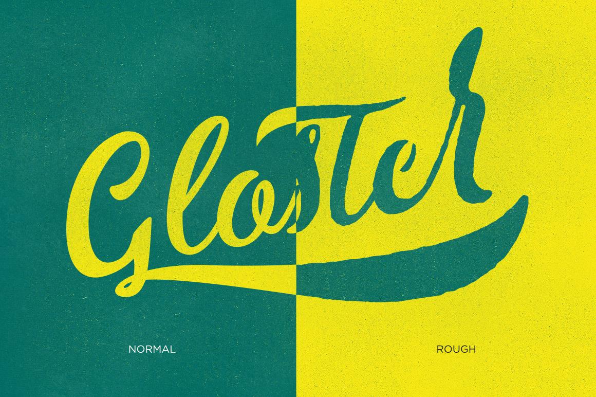 Gloster Typeface - Script - 5