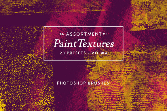 20 Assorted Paint PS Brushes Vol.4