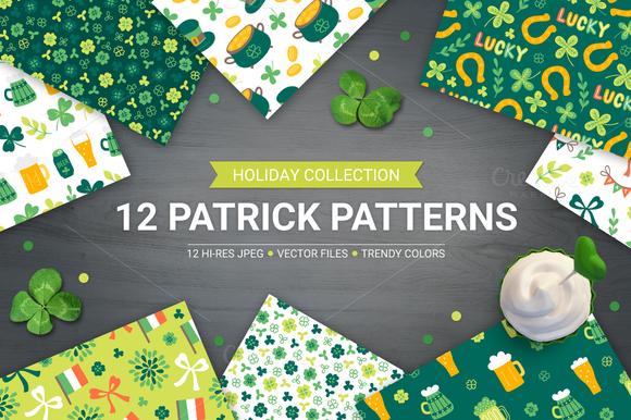 12 St. Patrick's Day Patterns - Patterns