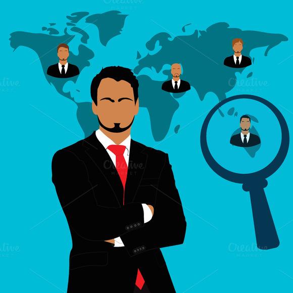 Employee Recruitment Vector