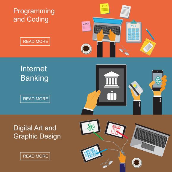 Programming Banking Vector