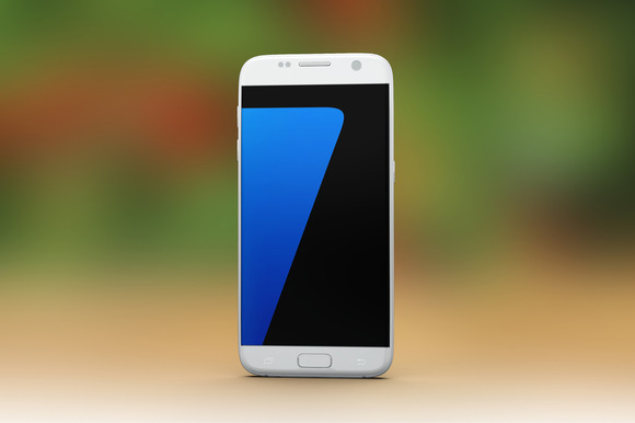 Samsung Galaxy S7 Mock Up