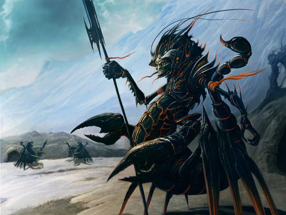 Scorpion Warrior