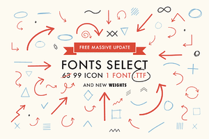 Font Select ICON - Massive update !
