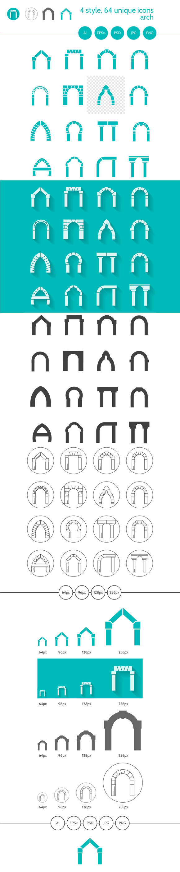 Arch Icons Full Collection