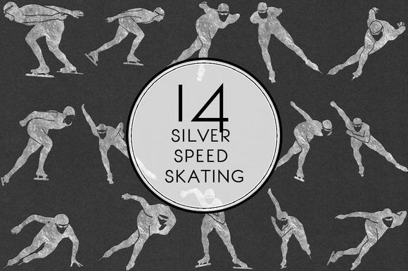 Silver Speed Skating
