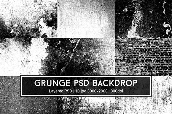 Grunge PSD Backdrop