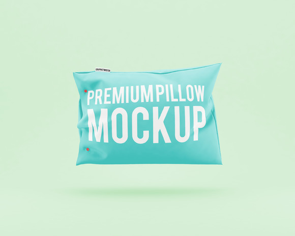 Color Pillow Mockup