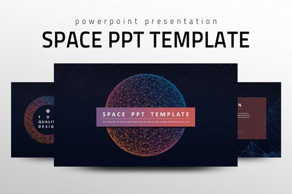Universe Powerpoint Background » Designtube