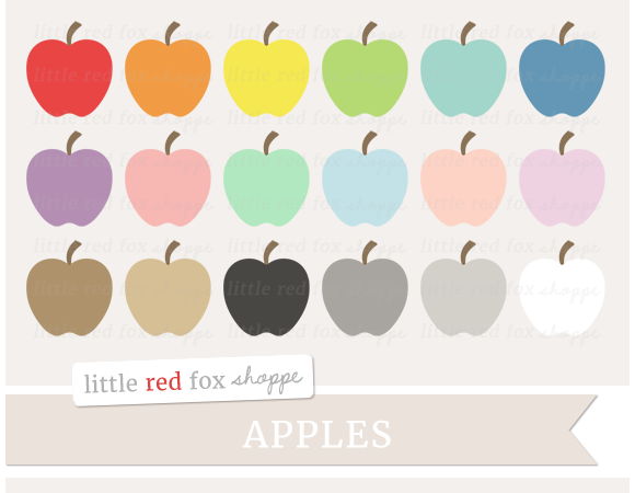 Apple Clipart Graphics
