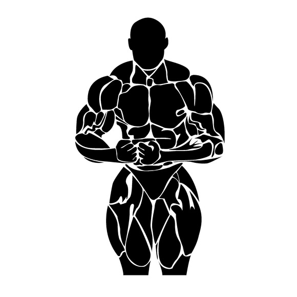 Bodybuilding Vector Icon