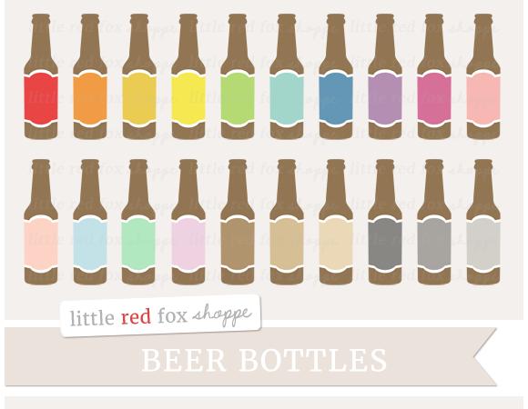 Beer Bottle Clipart