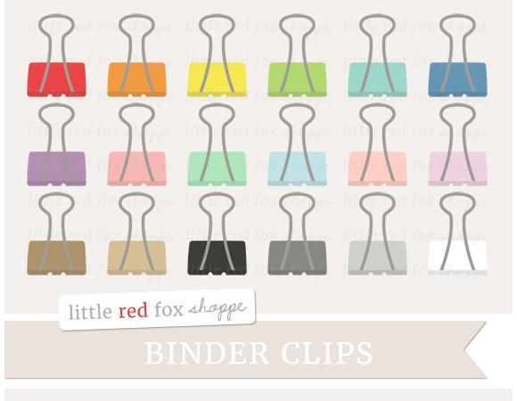 Binder Clip Clipart