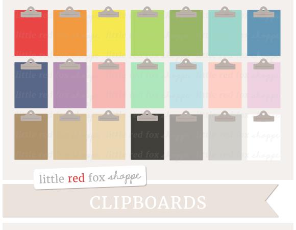 Clipboard Clipart