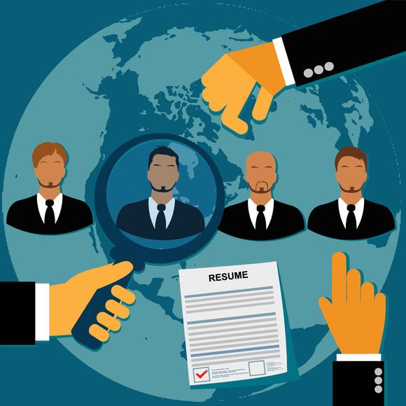 Employee Recruitment Hr Vector