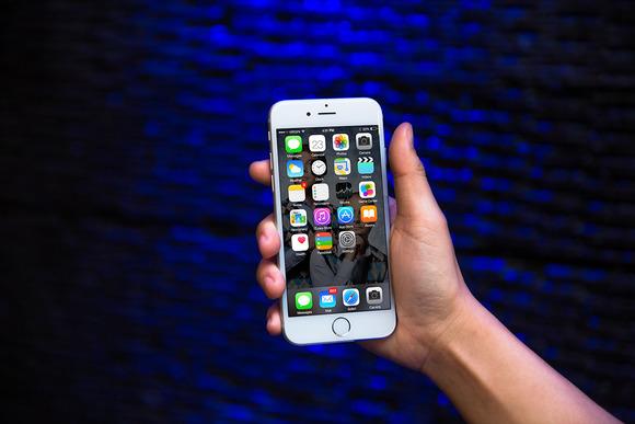 IPhone6 Template Deep Blue