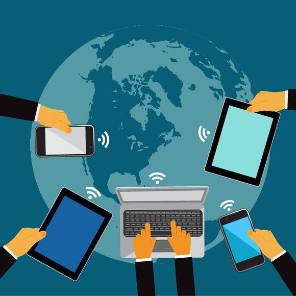 World Communication Vector