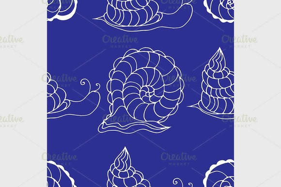 Pattern With Shells