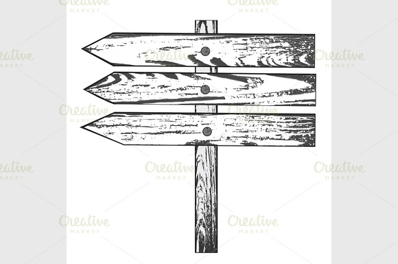 Wooden Direction