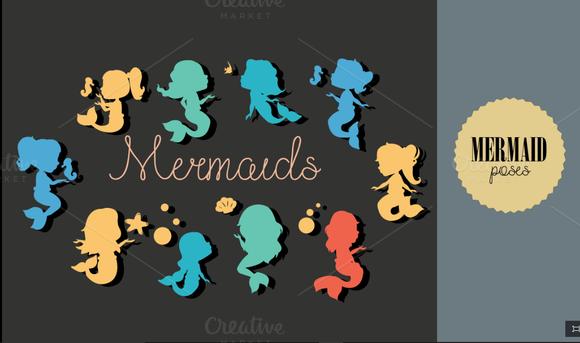 Mermaid Poses