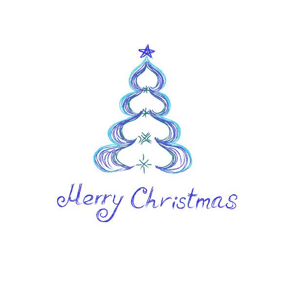 Christmas Tree Sketch