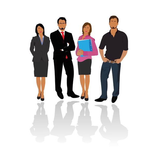 Business Team People