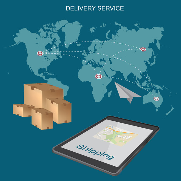 Worldwide Shipping Delivery
