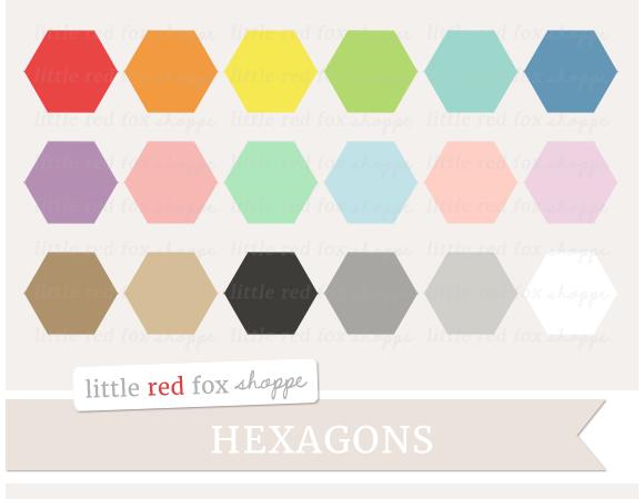 Hexagon Clipart