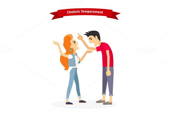 Choleric Temperament Type People