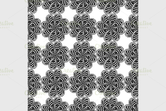 Seamless Black Pattern